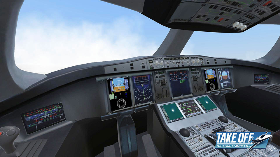 Take Off - The Flight Simulator - Screenshot